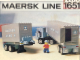 Set No: 1651  Name: Maersk Line Container Truck