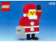 Set No: 1978  Name: Build-A-Santa polybag