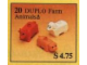 Set No: 20  Name: Farm Animals