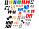 Set No: 2000700  Name: Mindstorms Education (LME) Replacement Pack 1