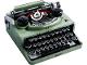 Set No: 21327  Name: Typewriter