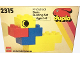 Set No: 2315  Name: Duplo Duck