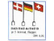 Set No: 242B  Name: International Flags - Britain, France, Austria, Portugal, LEGO