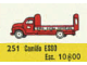 Set No: 251  Name: 1:87 Esso Bedford Truck