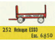 Set No: 252  Name: 1:87 Esso Bedford Trailer