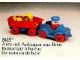 Set No: 2625  Name: Car with Boat and Trailer