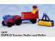 Set No: 2629  Name: Tractor and Farm Machinery