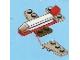 Set No: 2824  Name: Advent Calendar 2010, City (Day  9) Toy Airplane