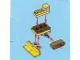Set No: 2824  Name: Advent Calendar 2010, City (Day 20) - Toy Bulldozer