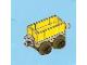 Set No: 2824  Name: Advent Calendar 2010, City (Day 21) - Toy Train Car, Yellow