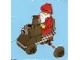 Set No: 2824  Name: Advent Calendar 2010, City (Day 24) - Santa Claus with Toy Train Engine