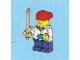 Set No: 2824  Name: Advent Calendar 2010, City (Day  2) - Boy with Sword