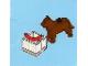 Set No: 2824  Name: Advent Calendar 2010, City (Day  8) Dog with Bowl and Sausage