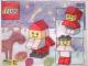 Set No: 2873  Name: {Small Santa Claus} polybag