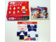 Set No: 2878  Name: Santa Claus Mos Burger Gift Box 3 - Soccer Santa