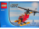 Set No: 30019  Name: Fire Helicopter polybag