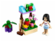 Set No: 30112  Name: Emma's Flower Stand polybag