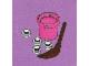 Set No: 3316  Name: Advent Calendar 2012, Friends (Day 16) - Basket with Broom and Snow Balls
