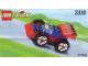 Set No: 3330  Name: Racing Car polybag
