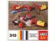Set No: 349  Name: Mini-Wheel Construction Set