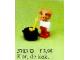 Set No: 3703  Name: Peter Pig the Cook