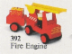 Set No: 392  Name: Fire Engine