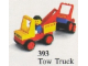 Set No: 393  Name: Tow Truck