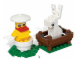 Set No: 40031  Name: Bunny and Chick polybag