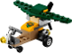 Set No: 40284  Name: Monthly Mini Model Build Set - 2018 09 September, Glider polybag