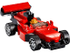 Set No: 40328  Name: Monthly Mini Model Build Set - 2019 08 August, Racing Car polybag