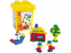 Set No: 4087  Name: Bucket XL Bunte Welte (Colorful World)