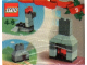 Set No: 4124  Name: Advent Calendar 2001, Creator (Day  3) - Fireplace