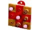 Set No: 41353  Name: Advent Calendar 2018, Friends (Day 15) - Tic-Tac-Toe Puzzle Tree Ornament