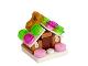 Set No: 41382  Name: Advent Calendar 2019, Friends (Day 21) - Gingerbread House Tree Ornament