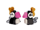 Set No: 41382  Name: Advent Calendar 2019, Friends (Day  3) - Two Penguins Tree Ornaments