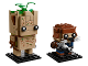 Set No: 41626  Name: Groot & Rocket