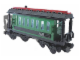 Set No: 4186872  Name: Passenger Wagon Green (White Box)