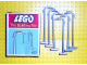 Set No: 433  Name: 6 Street Lamps with Curved Top (The Building Toy)