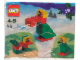Set No: 4524  Name: Advent Calendar 2002, Creator (Day 19) - Parrot