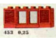 Set No: 453  Name: 1 x 6 x 2 Shuttered Windows, Red or White