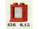 Set No: 456  Name: 1 x 2 x 2 Window, Red or White