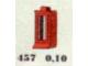 Set No: 457  Name: 1 x 1 x 2 Window, Red or White