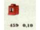 Set No: 459  Name: 1 x 1 x 1 Window, Red or White