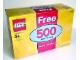 Set No: 4679b  Name: Free 500 LEGO Bricks (Bonus box and its contents only)