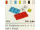 Set No: 470  Name: 1 x 1, 1 x 2, 2 x 2, 2 x 3, 2 x 4 Plates (System)