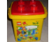 Set No: 4824  Name: Duplo Bucket, Medium