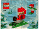 Set No: 4924  Name: Advent Calendar 2004, Creator (Day 10) - Sledding Santa