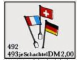 Set No: 493  Name: European Flags