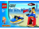 Set No: 4937  Name: Life Guard - Quick Magic Box Promotional polybag