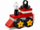 Set No: 5002813  Name: Christmas Train Ornament polybag